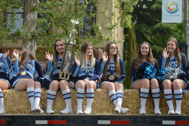 Pioneer Day Parade, May 5, 2018,  in Chico, California. (Carin Dorghalli -- Enterprise-Record)