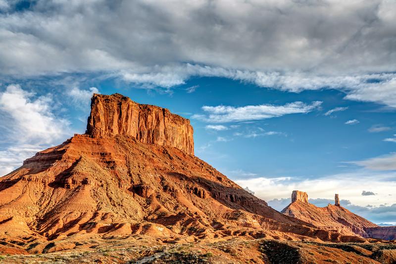Massive Buttes near Moab