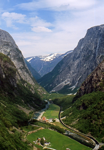 Nærøydalen - Stalheim, Norway - June 16, 1989