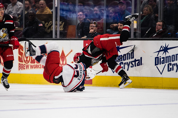 Cleveland Monsters vs Grand Rapids Griffins 11-12-19