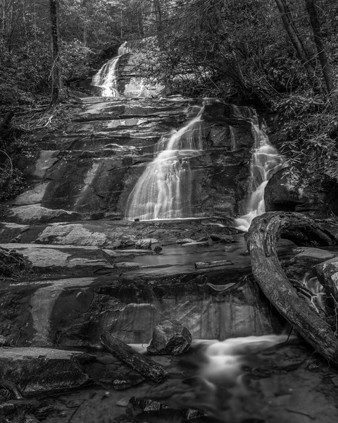 Falls Branch Falls on the Benton Mackaye Trail