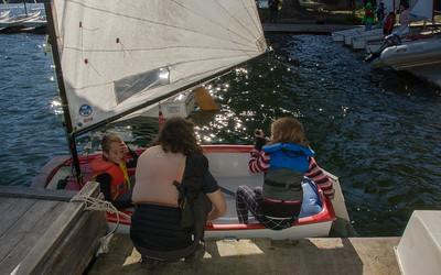 Myrtle Phillip Grade 5 sailing