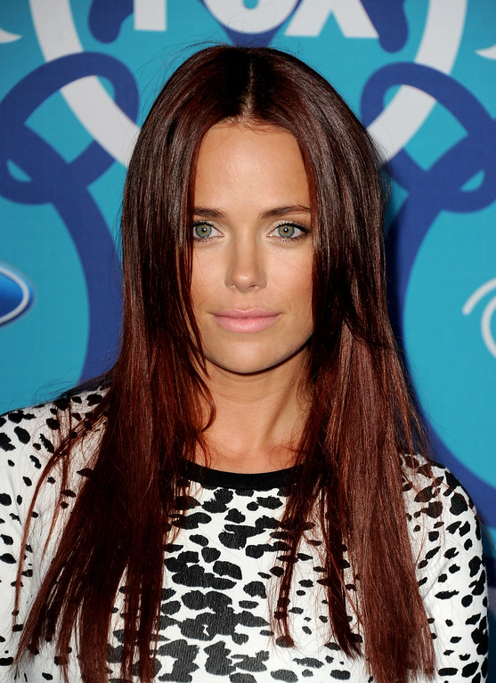 . Actress Katia Winter arrives at the Fox Fall Eco-Casino Party at The Bungalow on September 9, 2013 in Santa Monica, California.  (Photo by Kevin Winter/Getty Images)