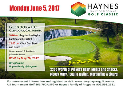 2017 Haynes Family of Programs Golf Classic