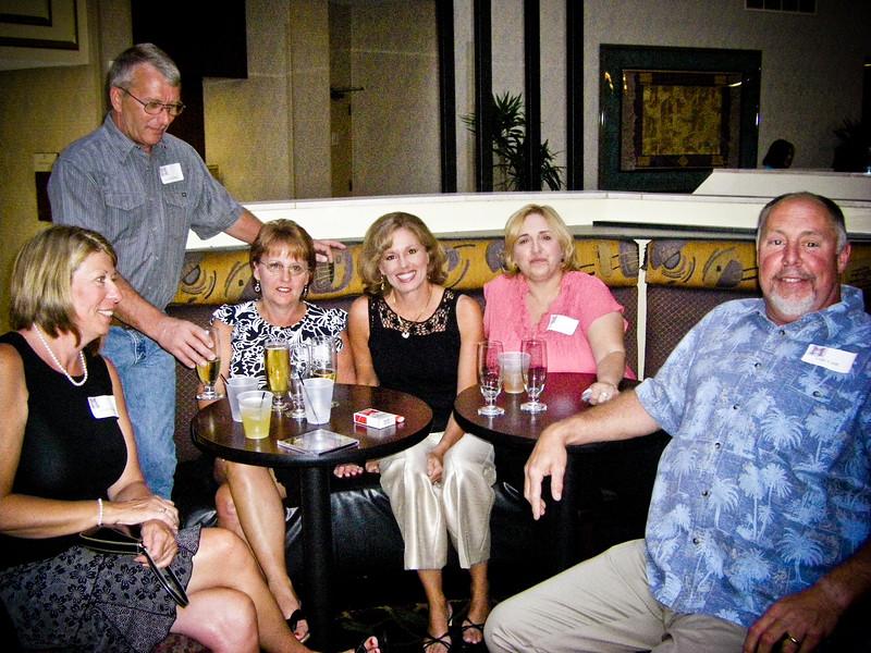Sue Wood Case, Daniel Ridings, Gayle Reed Ridings, Janice Wolf Olsen, -----, Earl Case