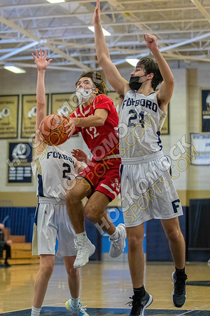 Foxboro-North Attleboro Boys Basketball - 02-17-21