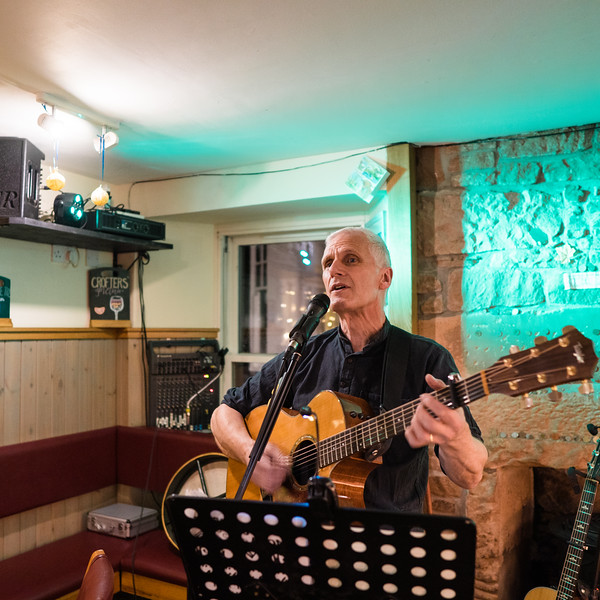 Tim Pomeroy at Crofters'
