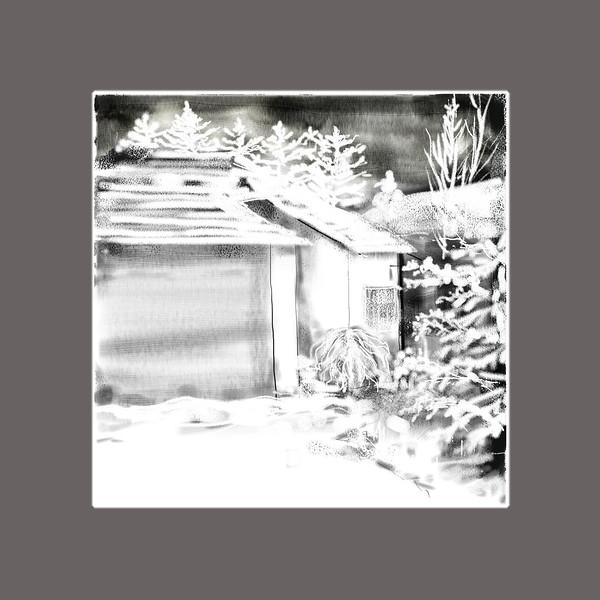 "Sheeter Janala, Computer painting, 8""x8"", 2014 December"