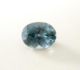 2.03ct Montana sapphire (heated) oval