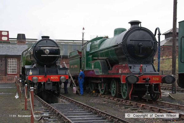 2007 11th November, Barrow Hill LNER gala