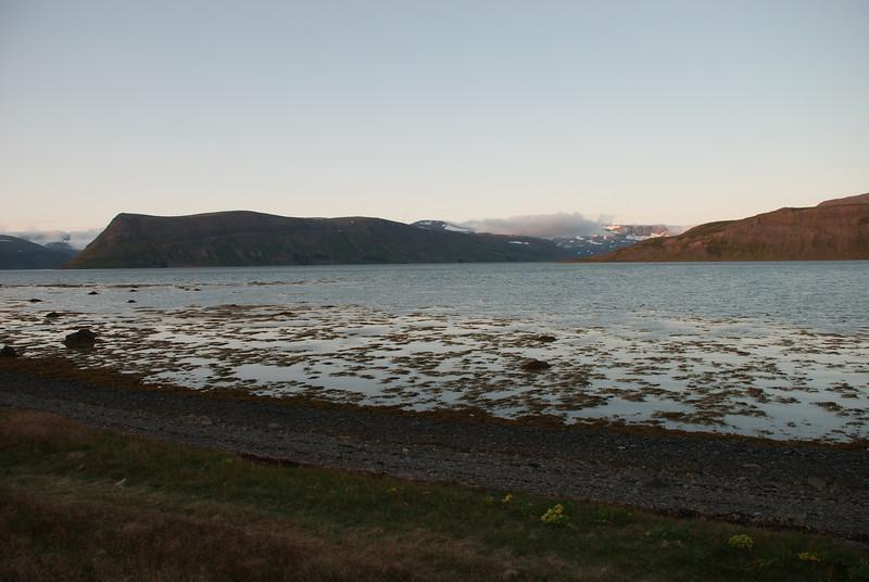 Lónafjörður, Lónanúpur, Hrafnfjörður, Kjósarnes.