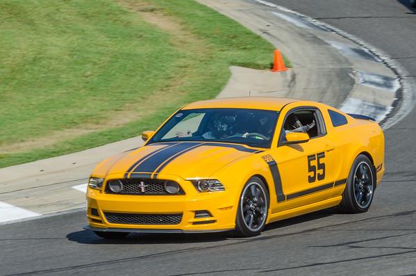 CB 55 Yellow Mustang