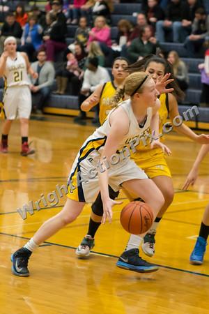 2015 02 13 Clarkston JV Girls Basketball vs North Farmington
