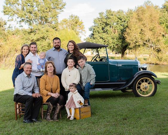 Melinda and Randy Broussard Family