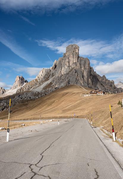 Gusela del Nuvolau - Giau Pass, San Vito di Cadore, Belluno, Italy - November 1, 2017