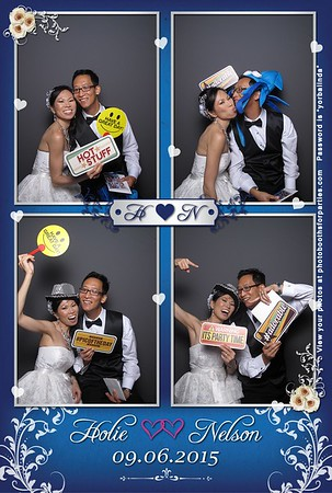 Holie and Nelson's Wedding