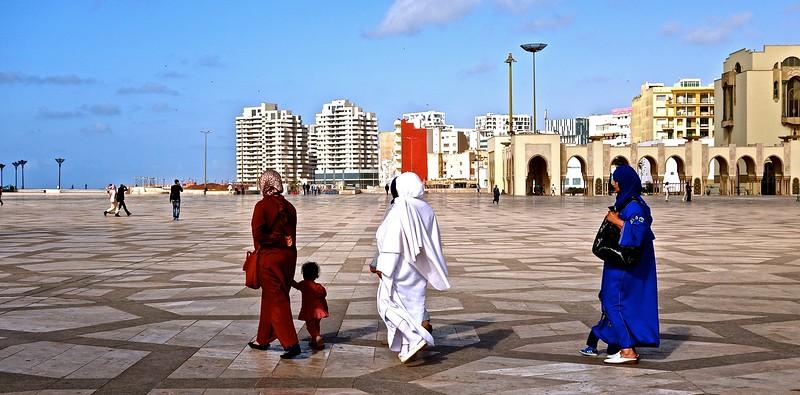 at Hassan II Mosque, Casablanca
