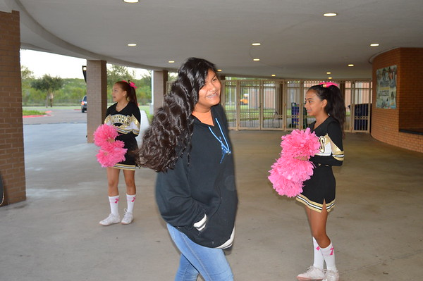 Welcome Wednesday Cheerleaders 10-23-19