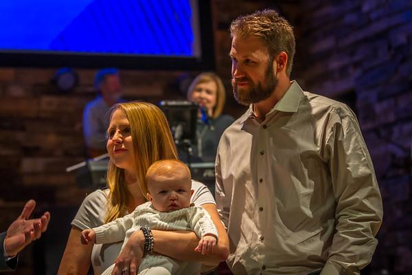 CLC Baptism - Brown Family