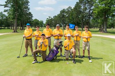 Thibodaux High School Golf Team 2019