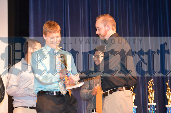Sullivan West Sports Awards Fall 2014