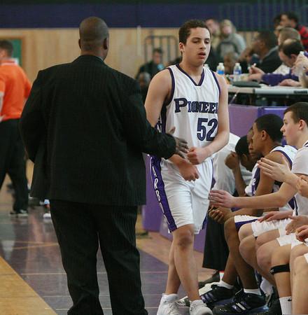 Belleville at Pioneer basketball 2009 - Freshmen