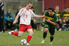Hazen Union defeats Peoples Academy 3-1 on penalty kicks in the Vermont Boys Soccer Division III playdowns at Hardwick, Vermont on October 27, 2009. The teams battled through double overtime with the score knotted at 0-0. Hazen's scorers were Oscar Wanstrup, Alan Therrien, and Adam Whitney. Peoples lone scorer during the PK round was Owen Fellows. Peoples' Noi Jones stopped 10 shots and Charles Lee equaled that total to seal the victory for the Wildcats.