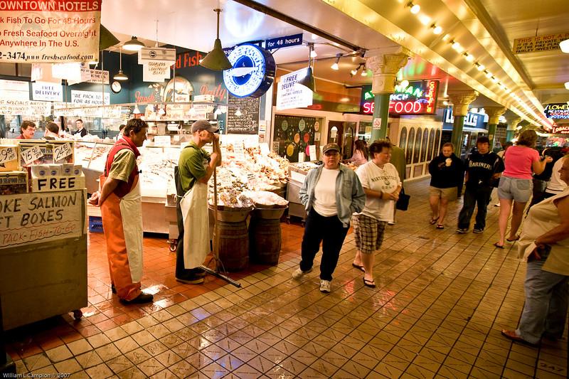 Pikes Public Market, downtown Seattle