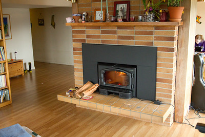 20110414 New Wood Stove