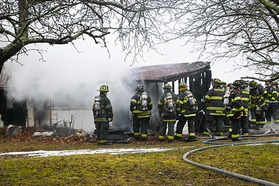 Hagerman FD  Dispatched to Involved Garage Fire [2021.02.27]