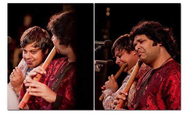 Jugalbandi with Shashank Subramanyam and  Rakesh Chaurasia