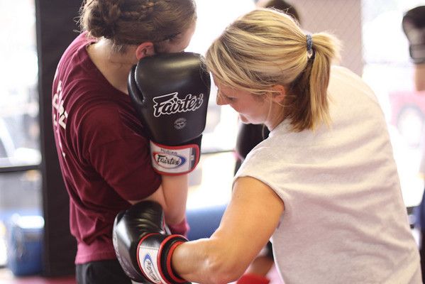 Kickboxing Workshop and Testing with William McGlothlin 09.10.10