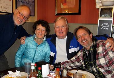 Alex, Caroline, Palmer & Doug