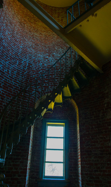 Another inside lighthouse view at Cape Blanco Lighthouse