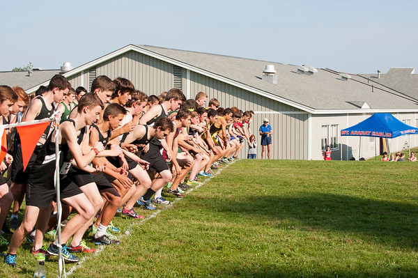 KVAC XC meet at Maranacook 5 Sept 2014