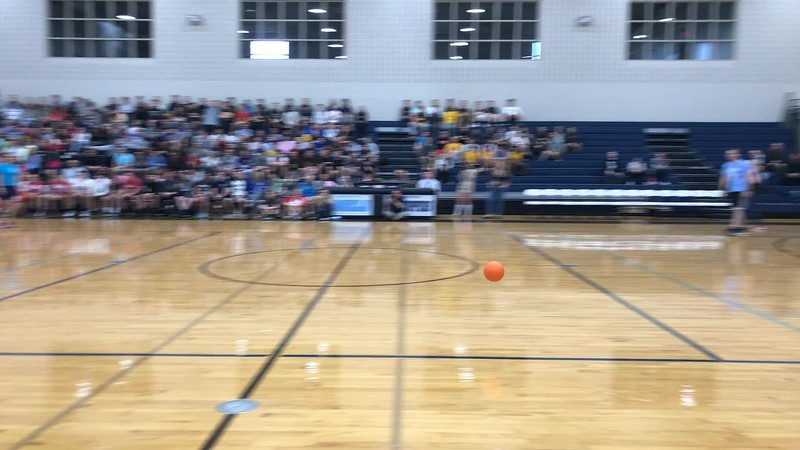 2017 Senior vs Teacher Dodgeball