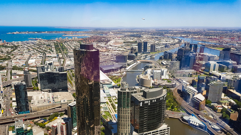 Eureka Tower view, Melbourne