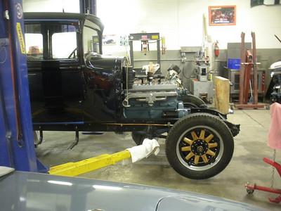1929 Chrysler Restoration Progress-Dan and Jerry Lynch