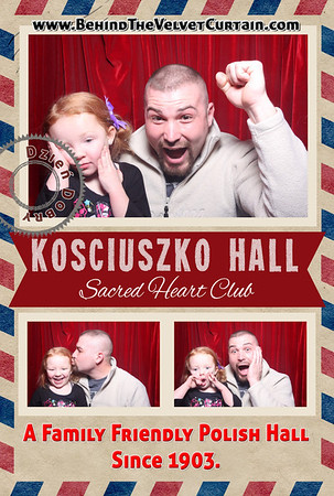Kosciuszko Hall Valentines/Polish Plate