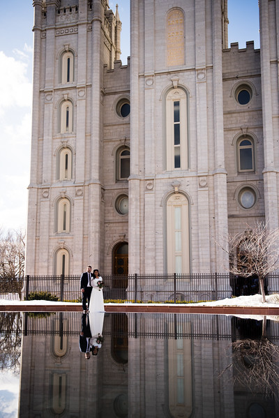 Patricia and Mario - SLC Temple