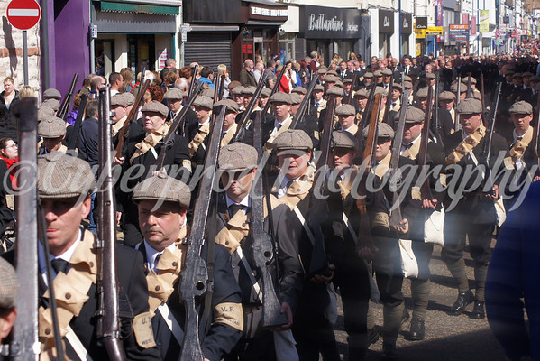 Larne Gun Runners Return Parade