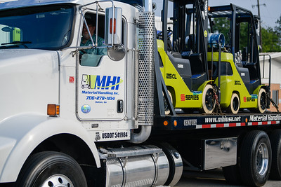 MHI Delivery truck