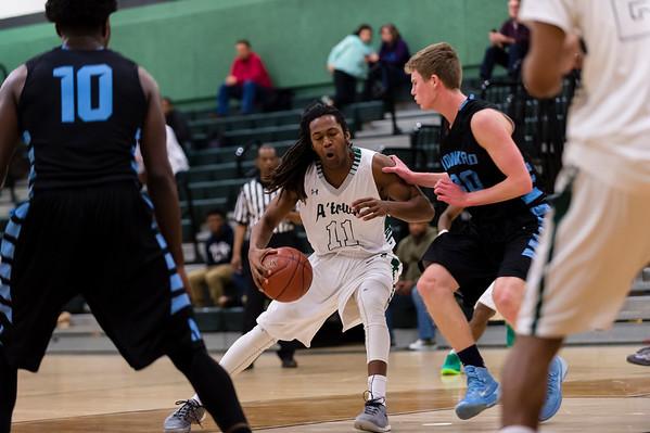 2/10/16 - Atholton Boys Varsity Basketball vs Howard
