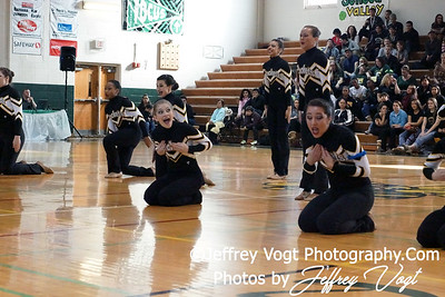 01-07-2012 Richard Montgomery HS Poms Competition at Damascus HS, Photos by Jeffrey Vogt Photography