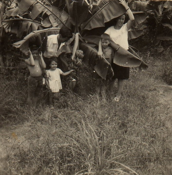 1966-Diamang   Fernando Figueiredo, Laura Figueiredo e filhos Álvaro, Palmira e Chico