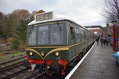 Severn Valley Railway, 26 November 2016