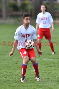 2016 CHS JV Boys Soccer - CR Washington