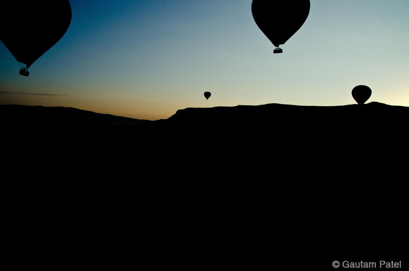 Cappadocia Balloon Ride, Turkey, June 2012