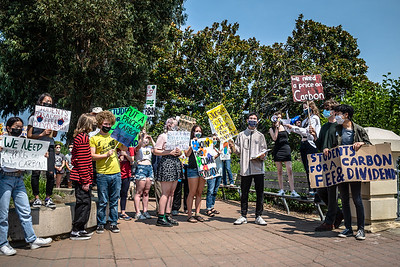 21 August 2021 San Mateo:  Students for a Carbon Fee and Dividend