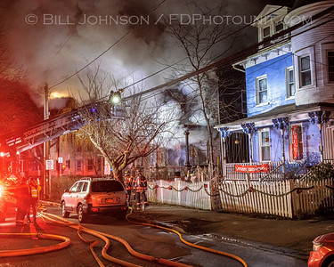 Arson Residential Structure Fire  - 26 South Clinton St. - City of Poughkeepsie FD - 01/14/2021